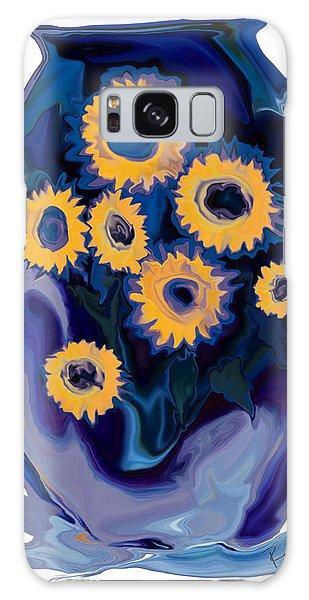 Sunflower 1 Galaxy Case by Rabi Khan