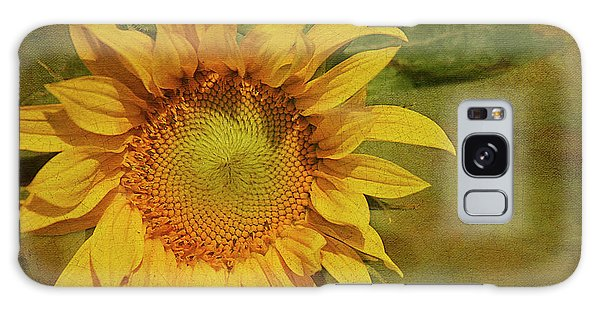Sunflower Galaxy S8 Case - Sunflower by Cindi Ressler