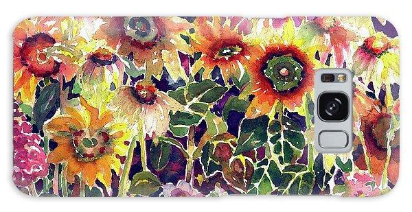 Sunflower Garden Galaxy Case