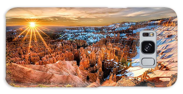 Sunrise At Bryce Galaxy Case