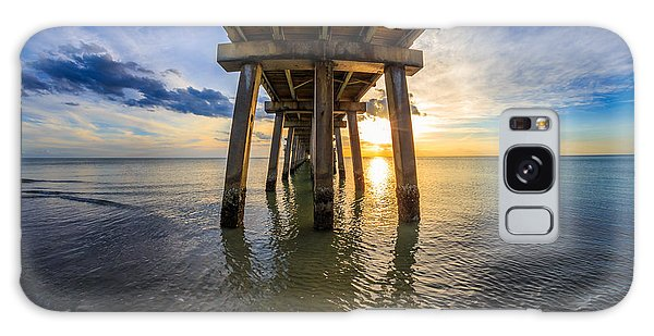 Sunrise Naples Pier Florida Galaxy Case