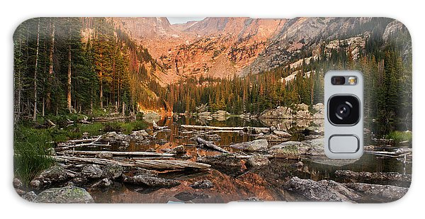 Dream Lake Sunrise Galaxy Case