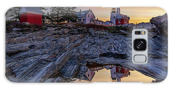 Sunrise At Pemaquid Point II Galaxy Case