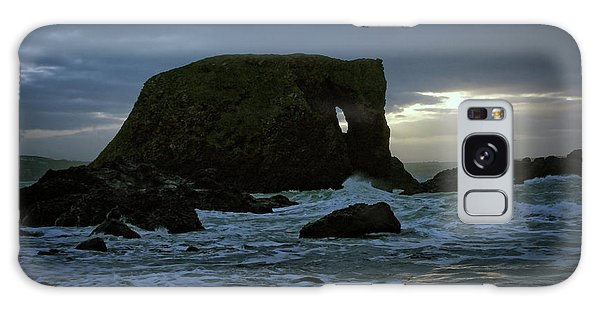 Sunset At Elephant Rock Galaxy Case