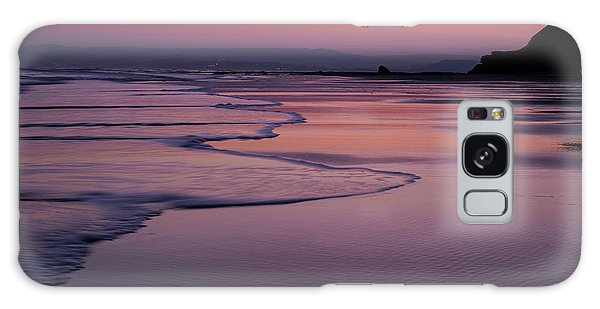 Sunset At Exmouth Galaxy Case