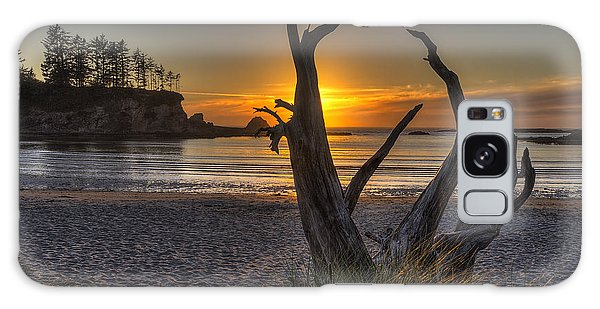 West Bay Galaxy Case - Sunset Bay by Mark Kiver