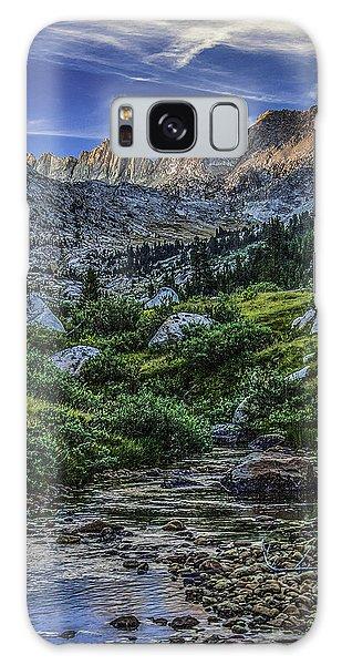 Sunset In The Upper Matterhorn Galaxy Case