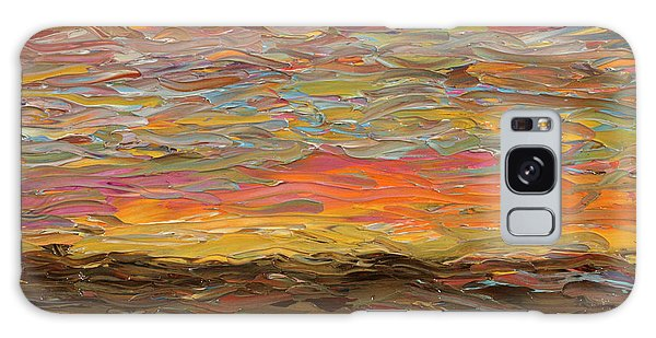 Evening Galaxy Case - Sunset by James W Johnson