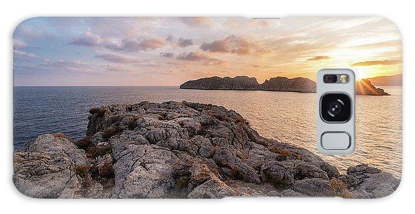 Sunset Malgrats Islands Galaxy Case
