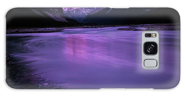 Sunwapta River Galaxy Case
