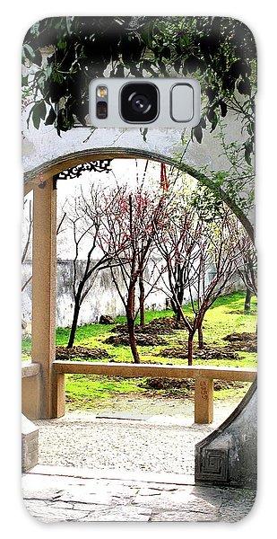Suzhou Gardens Galaxy Case by Marti Green