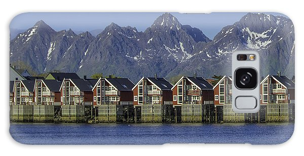 Svolvaer Norway Galaxy Case