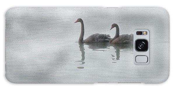 Swan Lake Galaxy Case by Carolyn Dalessandro