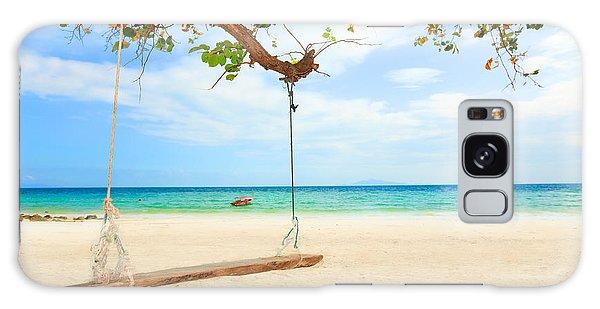 Phi Phi Island Galaxy Case - Swing by MotHaiBaPhoto Prints