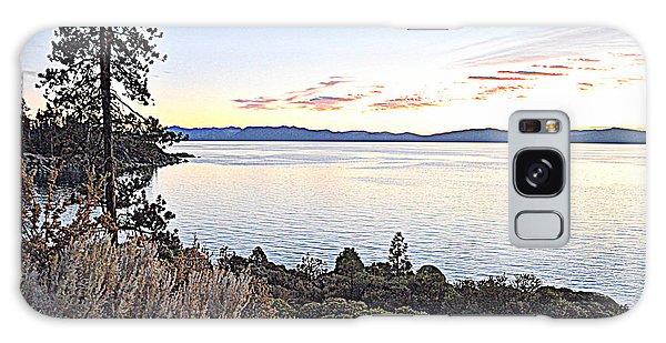 Tahoe Shoreline Galaxy Case