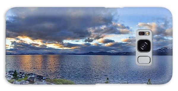 Tahoe Sunset Panorama Galaxy Case