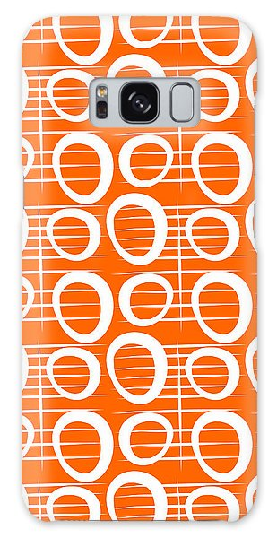 Woods Galaxy Case - Tangerine Loop by Linda Woods