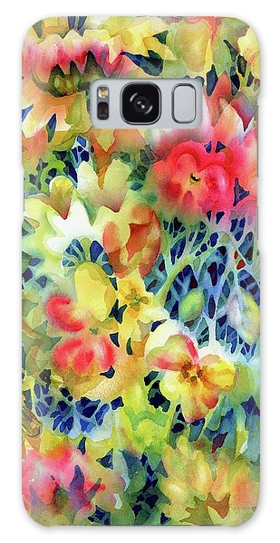 Tangled Blooms Galaxy Case
