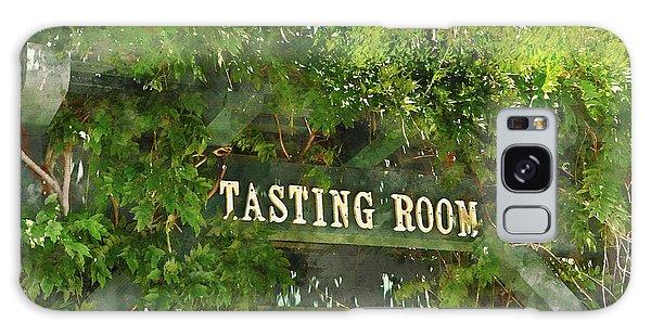 Tasting Room Sign Galaxy Case