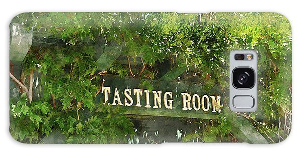 Tasting Room Sign Galaxy Case