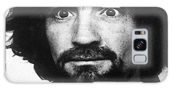 Charles Manson Mug Shot 1969 Vertical  Galaxy Case