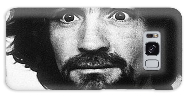 Charles Manson Mug Shot 1969 Vertical  Galaxy Case
