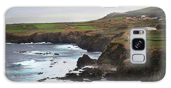 Galaxy Case featuring the photograph Terceira Coastline by Kelly Hazel