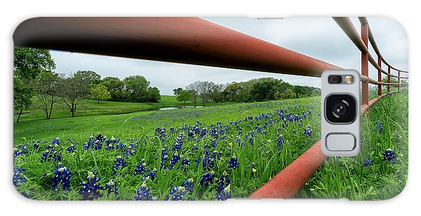 Texas Bluebonnets In Ennis Galaxy Case