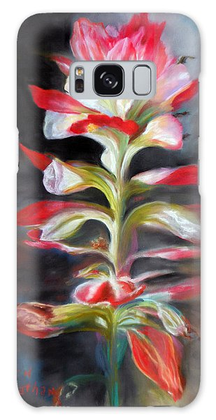 Texas Indian Paintbrush Galaxy Case by Karen Kennedy Chatham