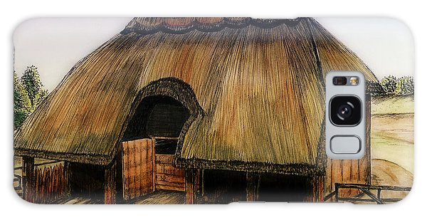 Thatched Barn Of Old Galaxy Case by Shari Nees