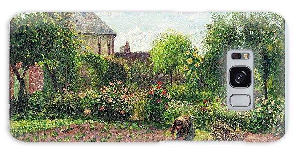 The Artist's Garden At Eragny Galaxy Case
