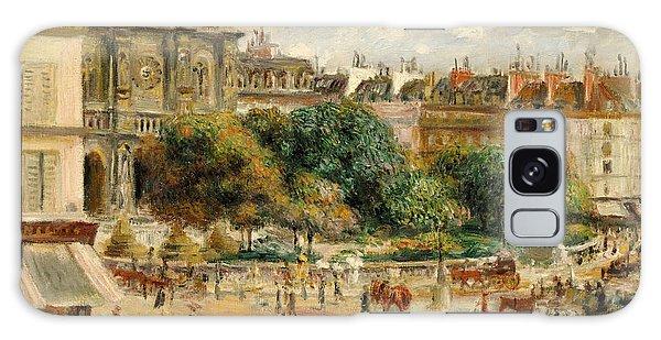 Clock Galaxy Case - Place De La Trinite, 1893 by Pierre Auguste Renoir