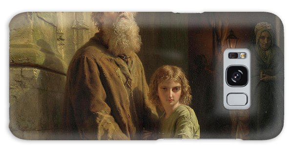 Place Of Worship Galaxy Case - The Blind Beggar by Josephus Laurentius Dyckmans
