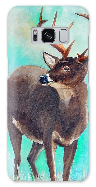the Buck Stops Here Galaxy Case by Sherril Porter