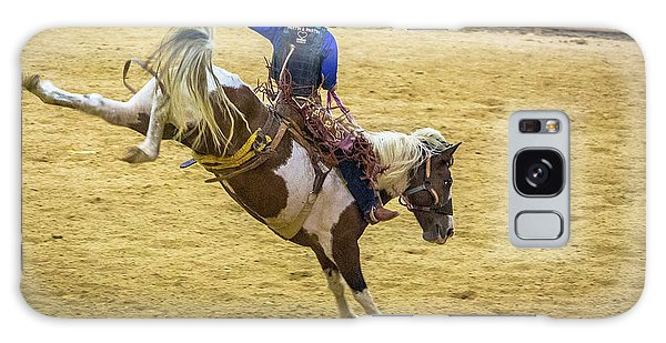 Prca Galaxy Case - The Bucking Horse by Rene Triay Photography