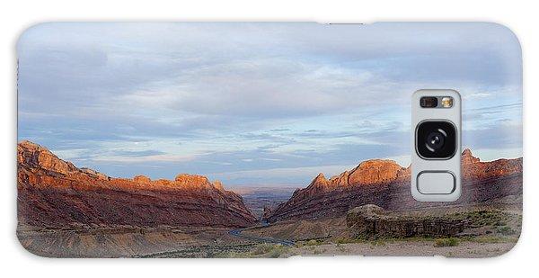The Castles Near Green River Utah Galaxy Case