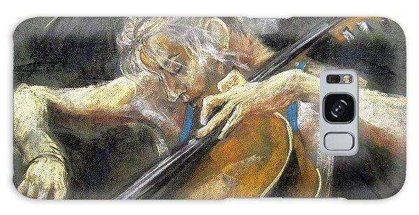 The Cellist Galaxy Case by Debora Cardaci