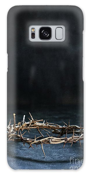 The Crown Of Jesus Christ Galaxy Case