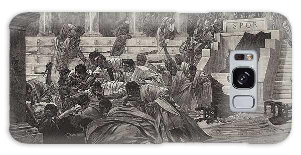 Ides Of March Galaxy Case - The Death Of Caesar by English School