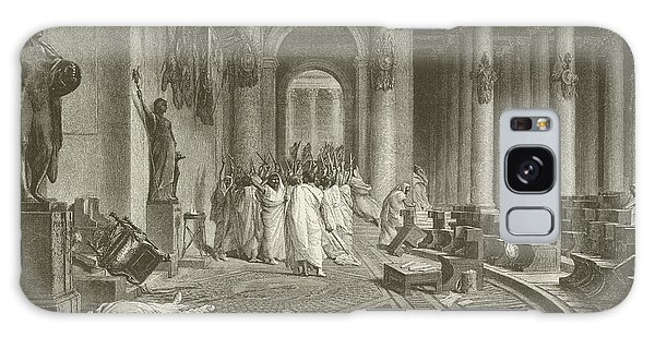 Ides Of March Galaxy Case - The Death Of Julius Caesar by Jean Leon Gerome