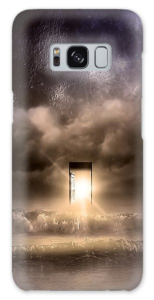 Fractal Galaxy Case - The Door by Svetlana Sewell