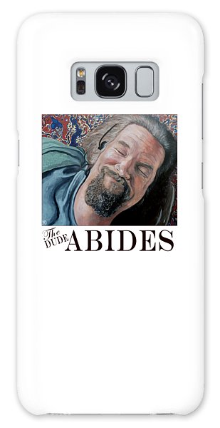 The Dude Abides Galaxy Case by Tom Roderick