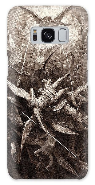 Chasm Galaxy Case - The Fall Of The Rebel Angels by Gustave Dore