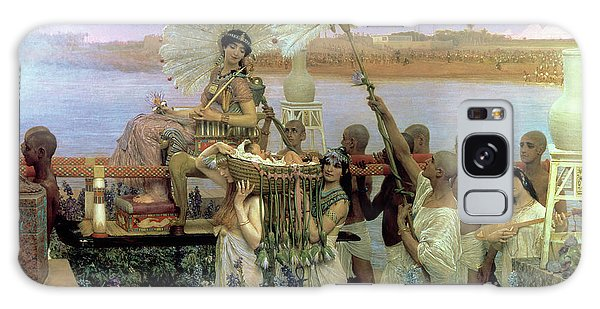 Egypt Galaxy Case - The Finding Of Moses by Sir Lawrence Alma Tadema