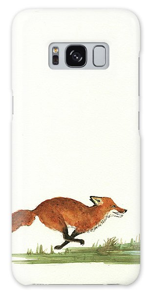 The Fox And The Pelicans Galaxy Case