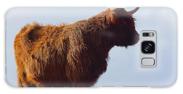 Highland Galaxy Case - The Highland Cow by Smart Aviation