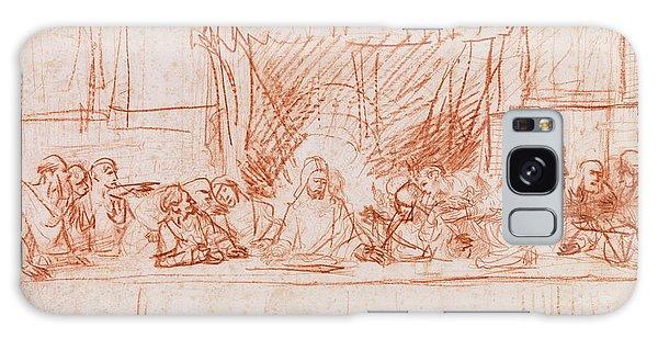 Communion Galaxy Case - The Last Supper, After Leonardo Da Vinci by Rembrandt
