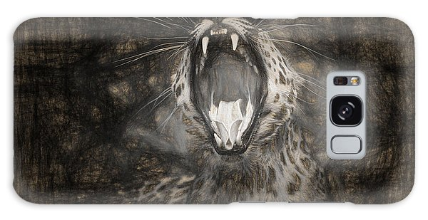 The Leopard's Tongue Rolling Roar IIi Galaxy Case