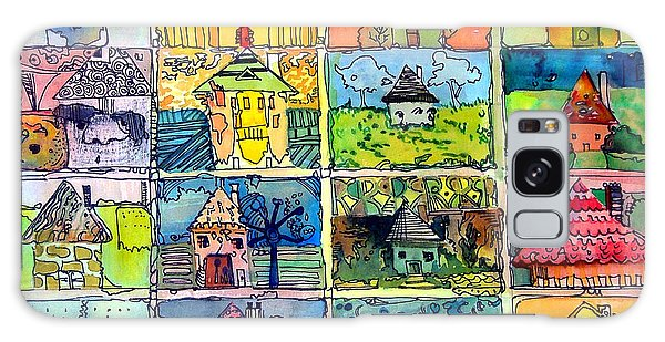 The Little Houses Galaxy Case