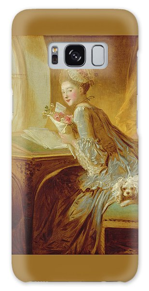 The Love Letter Galaxy Case by Jean Honore Fragonard
